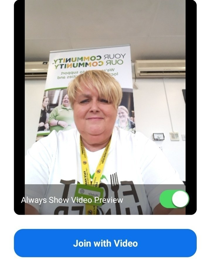 Zoom meeting with the Dementia group | Asda Gosforth