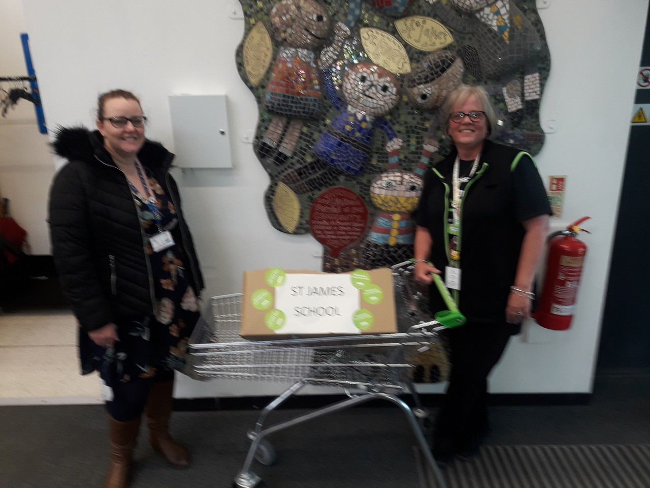A donation goes out to St James East Crompton  | Asda Shaw