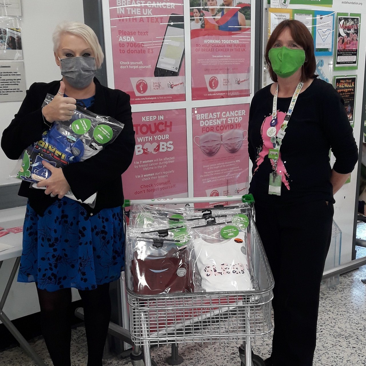 Asda Ashton donate PJs for the Children's Ward at Tameside Hospital | Asda Ashton