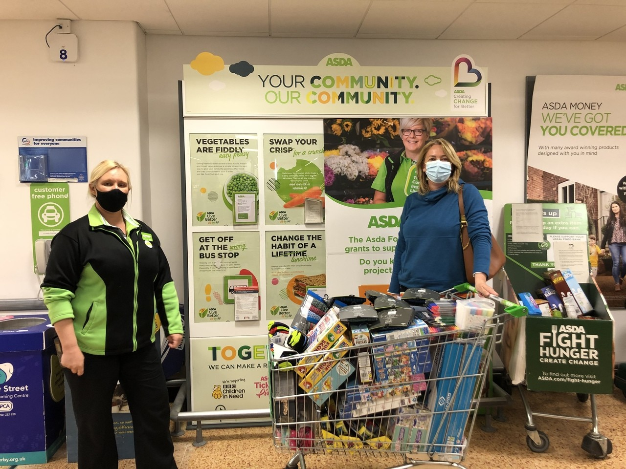 Supporting our community | Asda Derby
