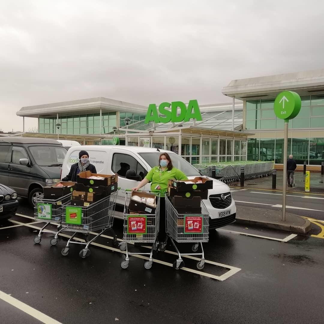 Food parcel donations | Asda Skelmersdale