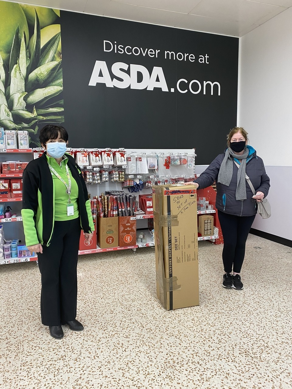 Donation of Christmas tree  | Asda Cookstown