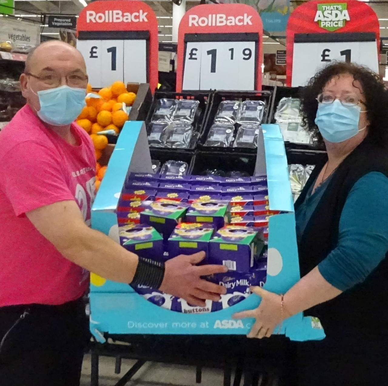 Easter Treats for The Socially Isolated & Those Who Go Without | Asda Stafford