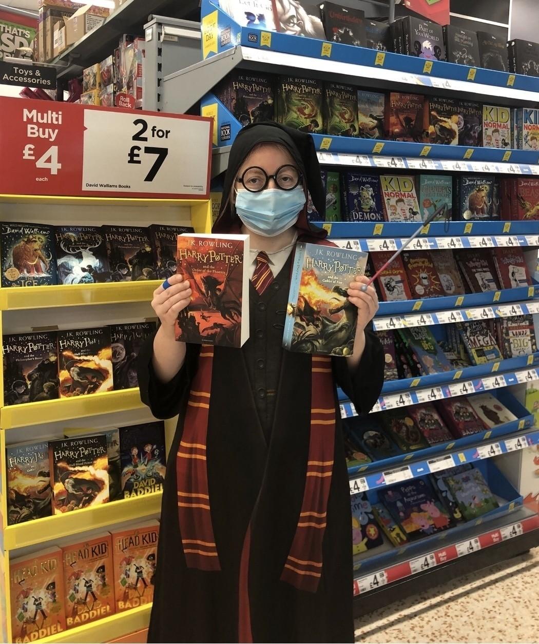 Harry Potter whizzes in | Asda Downpatrick