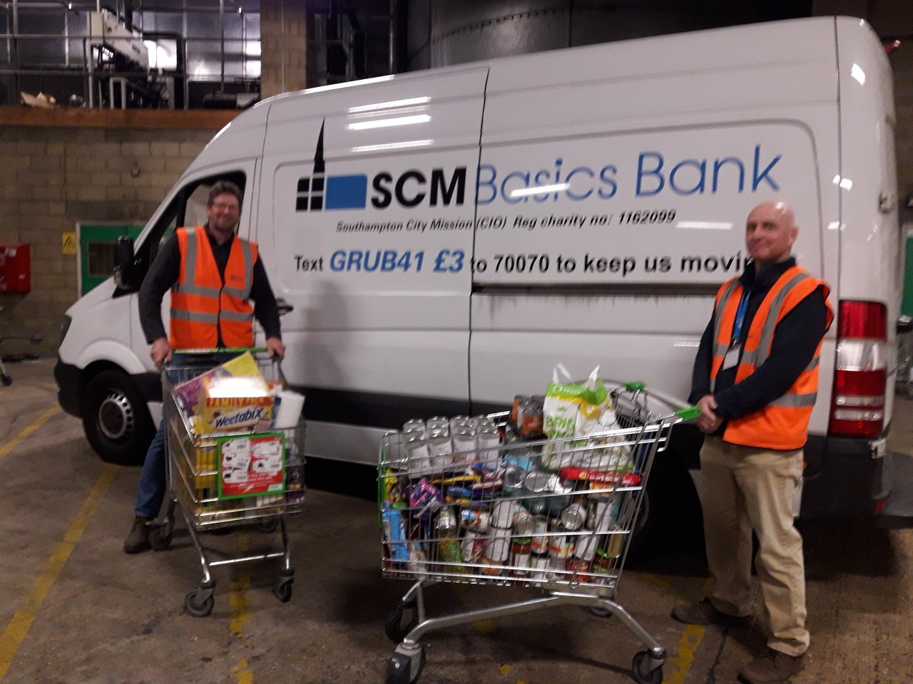 Supporting Southampton City Mission | Asda Southampton