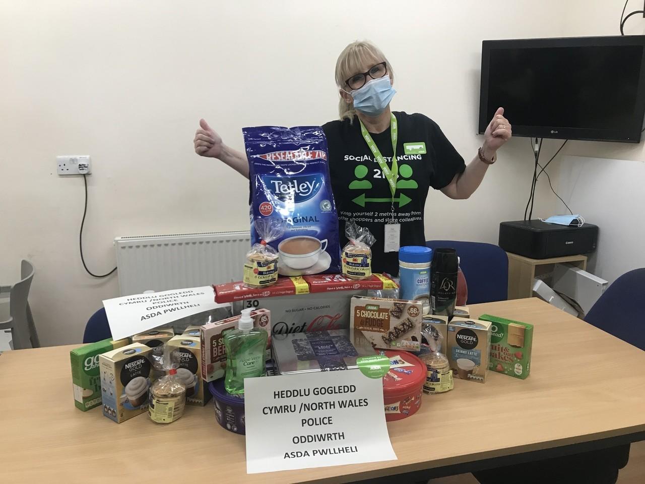 Donation toHeddlu Gogledd Cymru | Asda Pwllheli