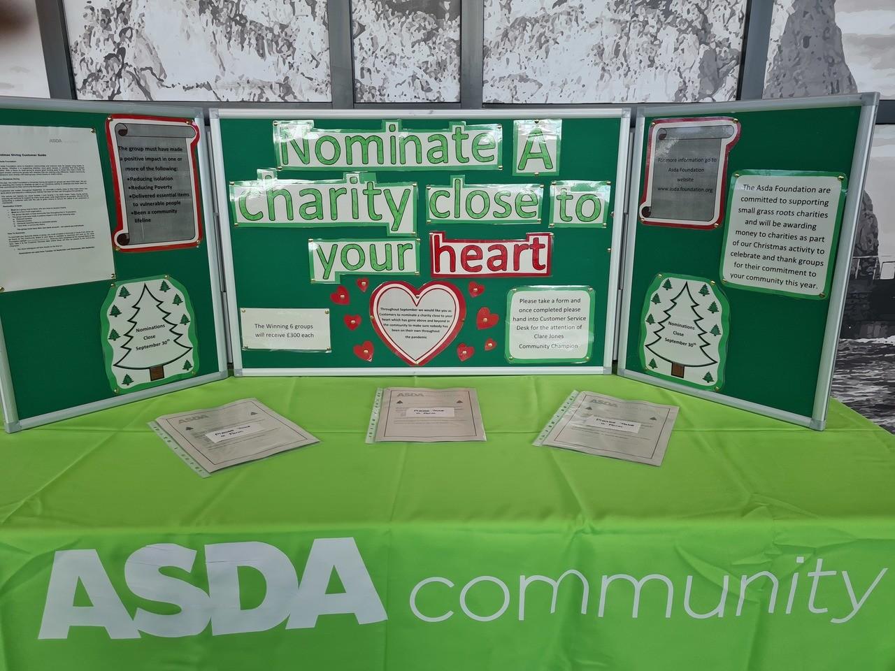 Christmas giving | Asda Newport Isle of Wight