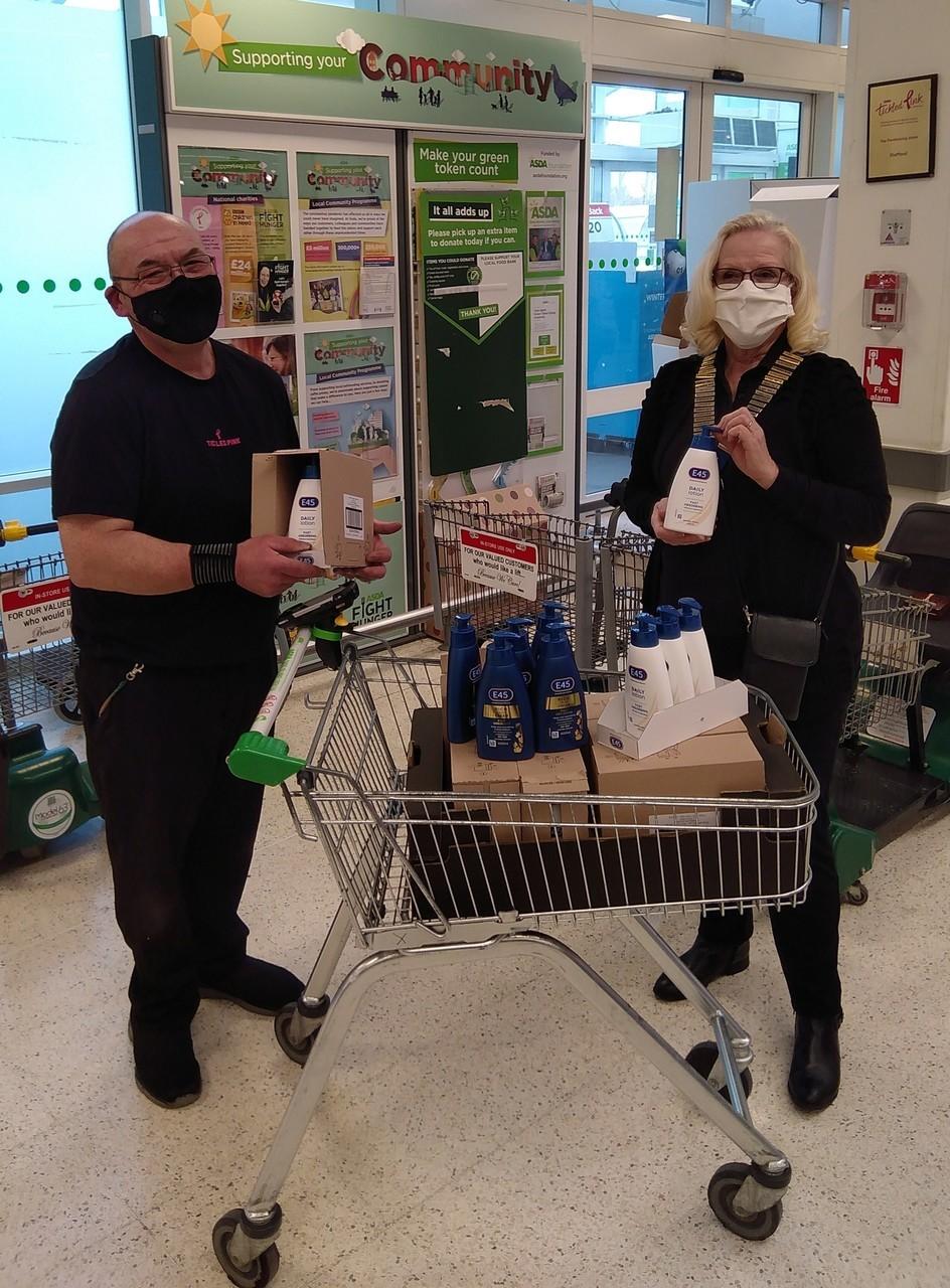 Helping hand for Stafford Hospital | Asda Stafford