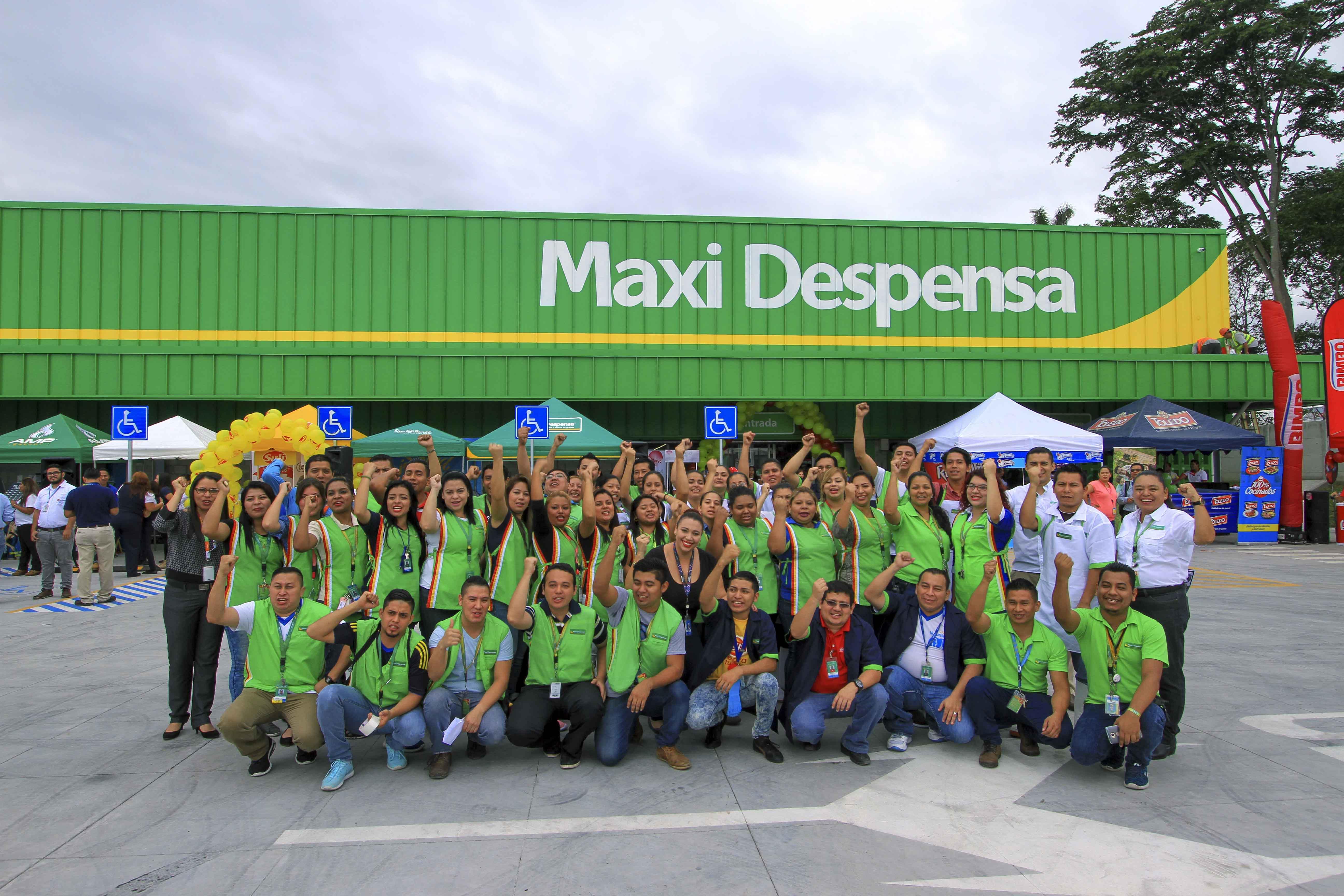 Maxi Despensa Prados de Venecia en El Salvador abrió sus puertas