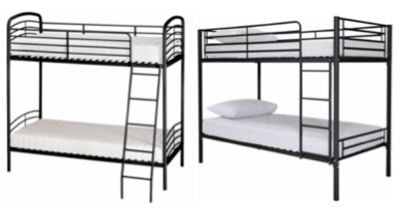 George Home Metal Bunk Bed