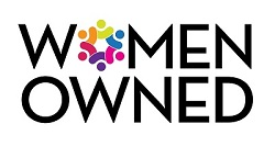 "Logo reads: ""Women Owned"""
